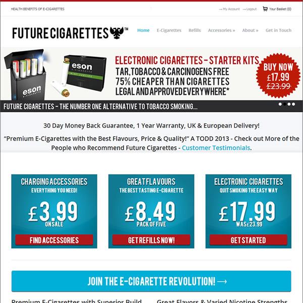 Future Cigarettes - Square