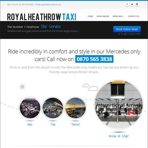 Royal Heath Taxi - Square