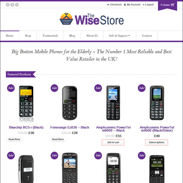 Wise-Store - Square